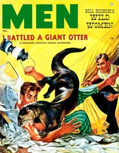 I battled giant otter cover