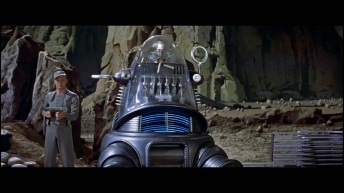 Robby the Robot serves a number of important functions; a loyal 'matriarchal' figure to Altaira but an ever-present, foreboding signifier of the Krell's power