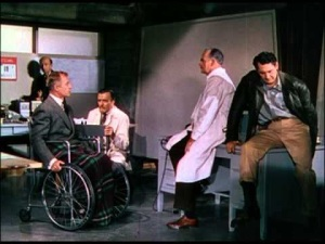 Dr Frye turned away from his fellow actors and imagined a world of high quality SF films full of tension and action, and tits.